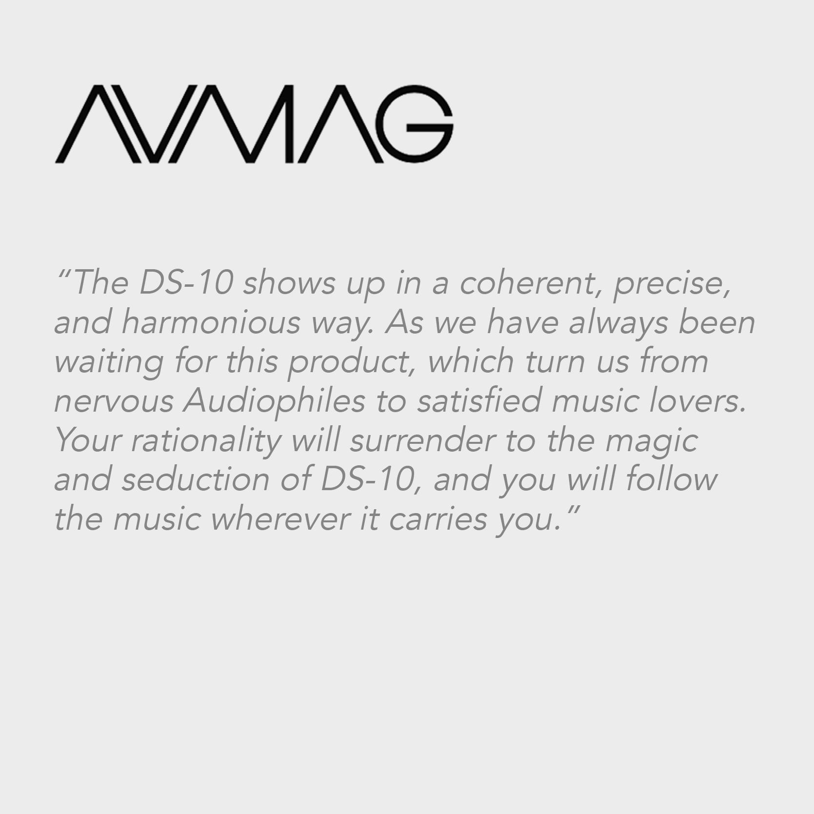 Audio Video Magazine | DS-10